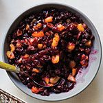 Fruit and Spice Cranberry Chutney Recipe | MyRecipes.com - Use coconut sugar and honey in place of granulated sugar, or possibly ground dates….