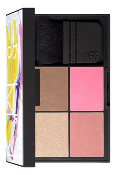 This four-in-one NARS cheek palette is perfect for touch ups on-the-go.