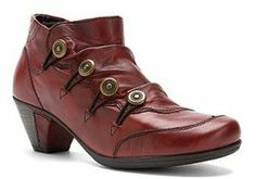 Cristallin Dress Boot in Burgundy from Remonte.