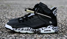 Air Jordan 6 Nightblade Custom