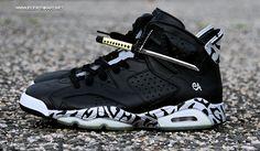 Air Jordan 6 Nightblade Custom