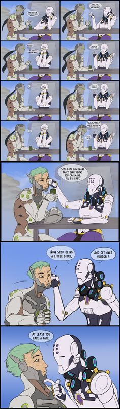 Part 4 - Sassyatta - Overwatch comic Overwatch Comic, Overwatch Memes, Overwatch Fan Art, Genji Shimada, Game Character, Video Games, Anime, Pokemon, Funny Pictures