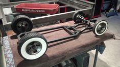 Frame for slammed wagon