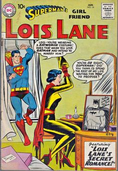 Batman's Girlfriend Lois Lane: What if Lois Lane was Bruce's love interest and became is wife what would her life look like  http://tomatovisiontv.wix.com/tomatovision2#!comics/cfvg