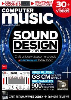 Computer Music 213. #Sound design 2015!