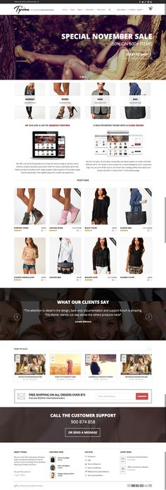 Tyrion is a powerful #parallax #WooCommerce #wordpress #theme with a lot of custom #eCommerce features.