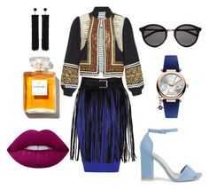 """""""Fringe"""" by frederiquerokus on Polyvore featuring mode, WearAll, Alix of Bohemia, Nly Shoes, Yves Saint Laurent, Vivienne Westwood, Tom Ford, Lime Crime en Chanel"""