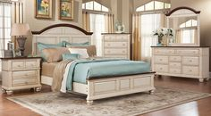 Affordable King Size Bedroom Furniture Sets for sale. Large selection of king bed sets: contemporary, modern, traditional, white, black, brown, cherry, espresso, etc#iSofa #roomstogo