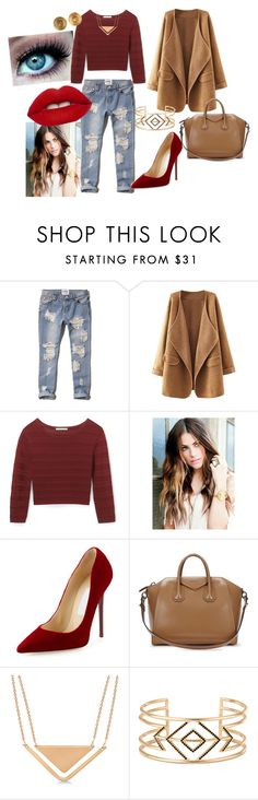 """""""autumn #5"""" by modefan2 on Polyvore featuring mode, Abercrombie & Fitch, Rebecca Minkoff, Jimmy Choo, Givenchy, Allurez, Stella & Dot et Chanel"""