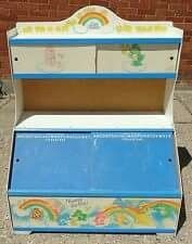 toy box with sliding chalkboard door 90s Childhood, My Childhood Memories, Sweet Memories, School Memories, Care Bears Vintage, Nostalgia, I Remember When, 80s Kids, Ol Days