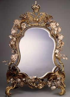 Mirror by Charles Frederick Kandler, 1741/42. The State Hermitage Museum, St. Petersburg.