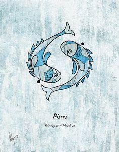 Pisces #illustration