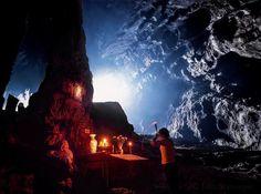 Photo by @johnstanmeyer  -  Prayers in the Perfume Pagoda, a sacred Buddhist cave in northern Vietnam.  -  @natgeo @natgeocreative @thephotosociety #vietnam #perfumepagoda #buddhism #cave #sacredcave #prayer #incense #candles #peace
