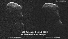 Best Images and Videos From 3-Mile-Wide Asteroid Toutatis' Flyby