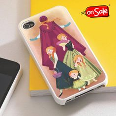 Princess Anna  iPhone 4S case iPhone 5S case iPhone by RogohSukmo, $5.00