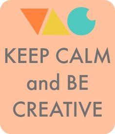 """VAC (le vide-atelier des créatives) :  """"Keep Calm and Be Creative"""" ... La plateforme de vente et le groupe privé de déstockage"""