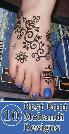 Best Foot Mehandi Designs – Our Top 10