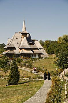 Barsana Monastery of Maramures. Romania.