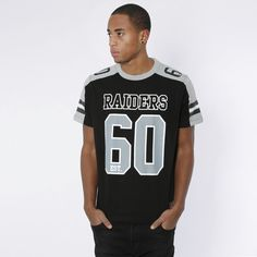 T-Skjorte - Finders - Oakland Raiders Black