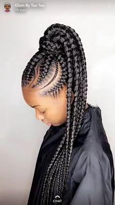 Small feed in braids, teen hairstyles, braided hairstyles, african american girl, ghana African Braids Hairstyles, Teen Hairstyles, Protective Hairstyles, Summer Hairstyles, Braided Hairstyles, Sporty Hairstyles, Small Feed In Braids, Braids For Kids, Girls Braids