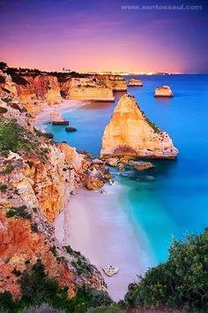 * Beautiful coastline *