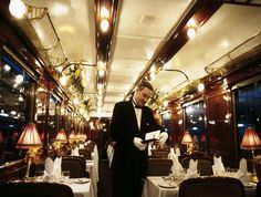 Pullman Orient Express - Anatolya, interior by Train Chartering & Private Rail Cars, via Flickr