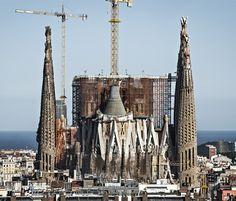 TO DO: La Sagrada Família, Barcelona