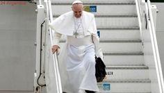 El Papa llegó a Roma, tras su visita de cinco días a Colombia