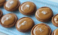 There are just 3 ingredients in these Salted caramel tarts! You can have these ready in 10 minutes.