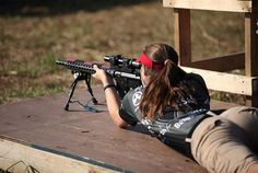 45-9mm-5-56mm:  sexygungirls:  This pic is sexy in more ways than one.
