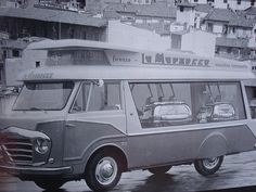 Vintage La Marzocco coffee van. I would love to recreate this.