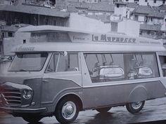 Vintage La Marzocco van