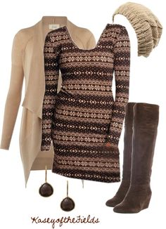 """Winter Cocoa"" by kaseyofthefields on Polyvore"