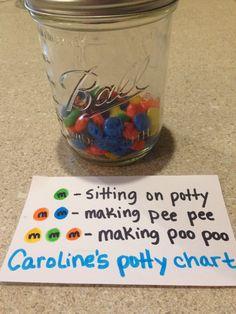 Potty training incentive