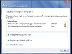 [WINDOWS 7] How to fix WIRELESS connection problem