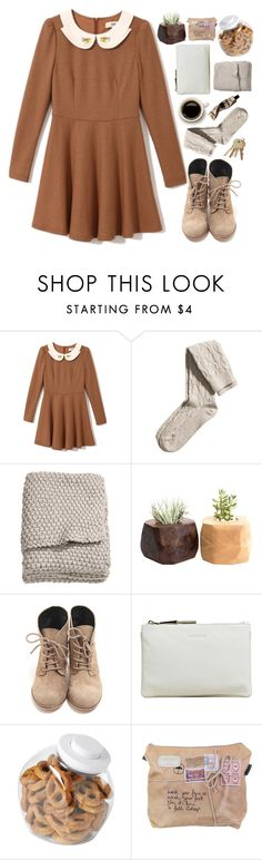 """""""Broken Souls"""" by nikki-huynh ❤ liked on Polyvore featuring H&M, Jil Sander, OXO and Aesop"""
