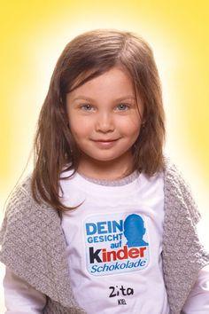 """""""Dein Gesicht auf Kinder Schokolade"""": Zitha (Quelle: Ferrero)"""