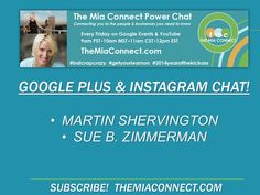 @Martin Shervington & @Sue B. Zimmerman Enterprise cover Google and Instagram.. IN DEPTH!  https://plus.google.com/u/0/events/cdaehrgphckfjvmk3eh59s7hpgo