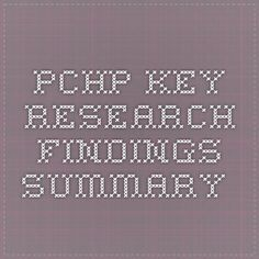 PCHP Key Research findings summary Summary, Research, Equality, Math Equations, Key, Search, Social Equality, Abstract, Unique Key