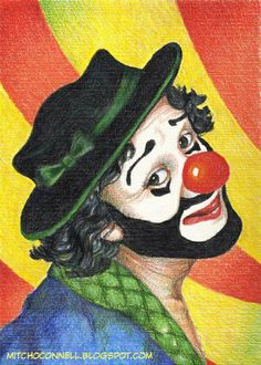 clown paintings | CLOWN ART! The top 100 most disturbing paintings EVER!