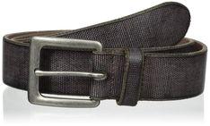 3a8eb072ad6a eBay  Sponsored John Varvatos Men s Leather Harness Buckle Belt Harnais En  Cuir, Le Cuir