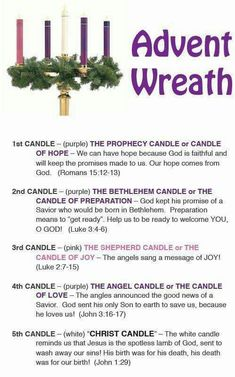 ~Advent Wreath