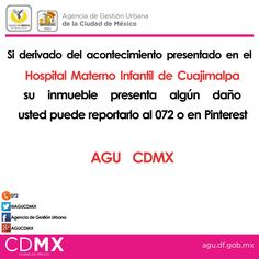 #AGUCDMX #HospitalMaternoInfantil