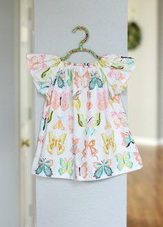 DIY Peasant Dress.. make in under 30 mins