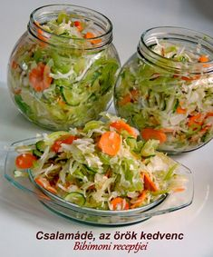Croatian Recipes, Hungarian Recipes, Vegetarian Recipes, Cooking Recipes, Healthy Recipes, Hungarian Cuisine, Recipes From Heaven, Summer Salads, Food For Thought