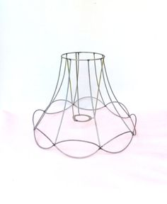 75 best diy lampshade frames images on pinterest lamp shade frame wire frame authentic vintage lampshade wire frame lampshade frame greentooth Images