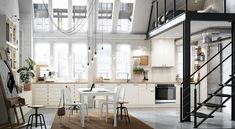 & & & & IKEA kitchen : the most beautiful models of the glove Swedish - It Decoration Kitchen Planner, Home Planner, Loft Kitchen, Kitchen Decor, Open Kitchen, Kitchen Interior, Banquette Ikea, Home Design Programs, Neutral Cabinets
