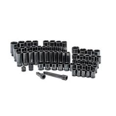 Husky 1/2 in. Drive SAE/Metric Impact Socket Set (64-Piece)-H64IMPS - The Home Depot