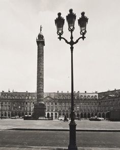 Max Dupain (Born Australia 1911, died 1992) Untitled (Place Vendôme with the column) 1978 From The Paris 'private' series