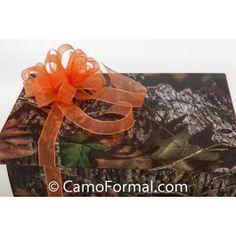 "Camouflage Gift Card Box 13"" x 9"" x 5"""